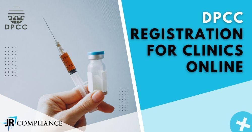 DPCC Registration For Clinics Online   JR Compliance